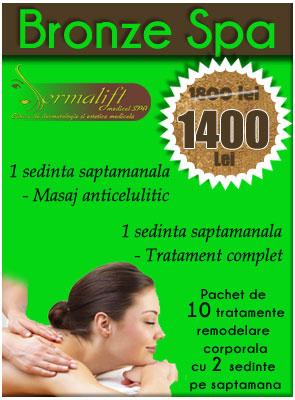 Pachete masaj anticelulitic